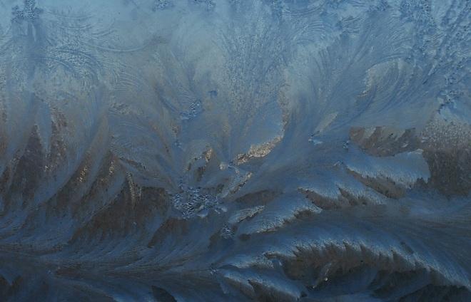 морозное окно